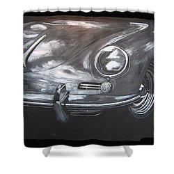 356 Porsche Front Shower Curtain