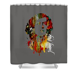 Jimmy Page Collection Shower Curtain