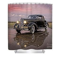 36 Plymouth Reflections Shower Curtain