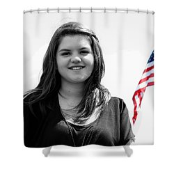 3631bw Shower Curtain