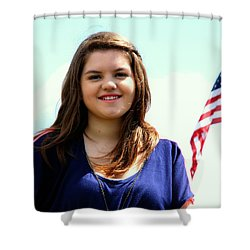 3631v2 Shower Curtain
