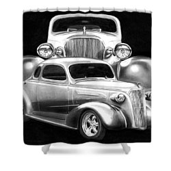 37 Double C Shower Curtain