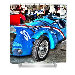 Delahaye Fast From The Front Shower Curtain by Josh Williams