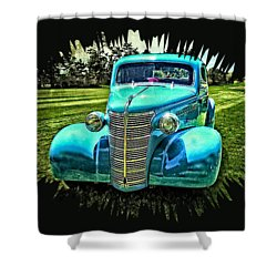 38 Chevrolet Classic Automobile Shower Curtain