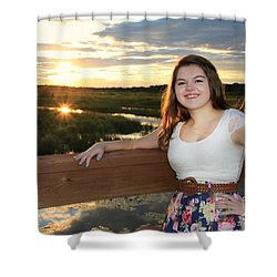 3833 Shower Curtain