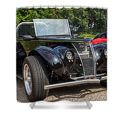 Hall County Sheriffs Office Show And Shine Car Show Shower Curtain