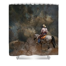 3982 Shower Curtain by Peter Holme III