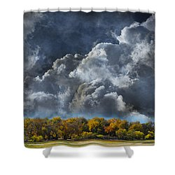 3985 Shower Curtain by Peter Holme III