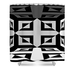 Shower Curtain featuring the photograph 3d Mg3d4w by Mike McGlothlen