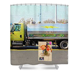 4-18-2057h Shower Curtain