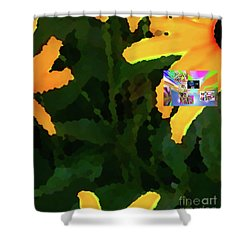 4-19-2057f Shower Curtain