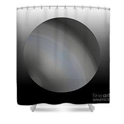 4 2017 Shower Curtain by John Krakora