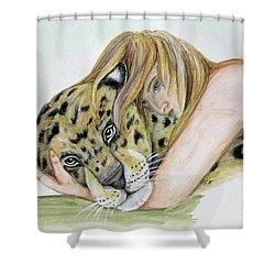Anam Leopard Shower Curtain