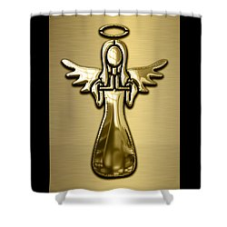 Angel Collection Shower Curtain by Marvin Blaine