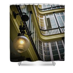 Shower Curtain featuring the photograph Apartment In The Heart Of Cadiz by Pablo Avanzini