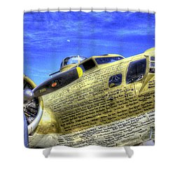 B-17 Shower Curtain