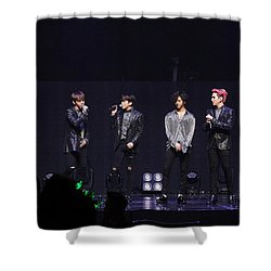 B.a.p Shower Curtain