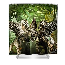 Bergdorf Goodman 2016 Shower Curtain
