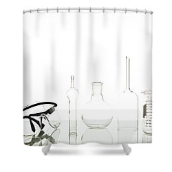 Clinical Pharmacology Shower Curtains