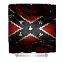 Confederate Flag 11 Shower Curtain