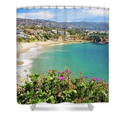 Crescent Bay, Laguna Beach, California Shower Curtain