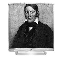 Davy Crockett (1786-1836) Shower Curtain by Granger