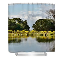 Shower Curtain featuring the photograph dead Tree by Werner Lehmann