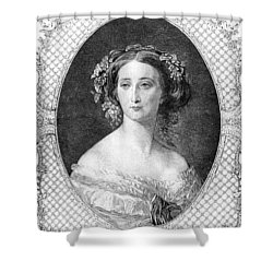 Empress Eugenie Of France Shower Curtain by Granger