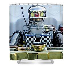 Engine Shower Curtain