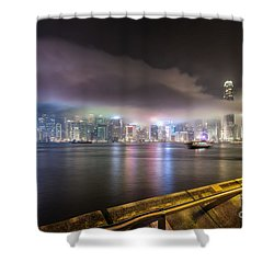 Hong Kong Stunning Skyline Shower Curtain