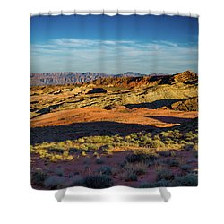 I Could Hear For Miles. Shower Curtain