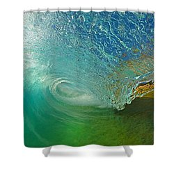 In The Tube Shower Curtain by James Roemmling