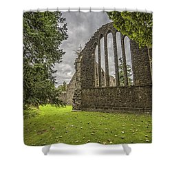 Inchmahome Priory Shower Curtain