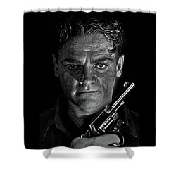 James Cagney - A Study Shower Curtain
