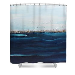 Jewels Of The Sea Shower Curtain by Dolores  Deal