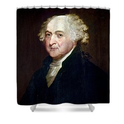 John Adams (1735-1826) Shower Curtain by Granger