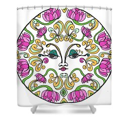 Lotus Princess Shower Curtain