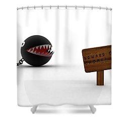 Mario Shower Curtain