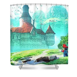 Mario Shower Curtain
