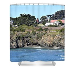 Mendocino Shower Curtain