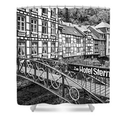 Monschau In Germany Shower Curtain