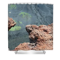 Mount Etna Shower Curtain