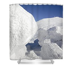 Mount Washington - New Hampshire Usa Shower Curtain by Erin Paul Donovan