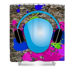 Music Shower Curtain by Marvin Blaine
