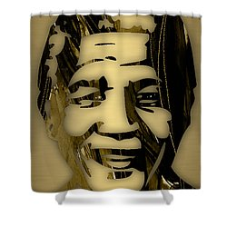 Nelson Mandela Collection Shower Curtain by Marvin Blaine