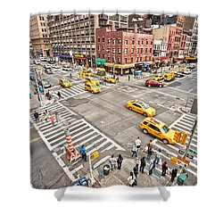 New York City Shower Curtain by Luciano Mortula
