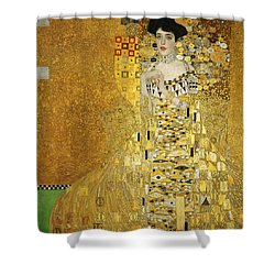 Portrait Of Adele Bloch-bauer I Shower Curtain by Gustav Klimt