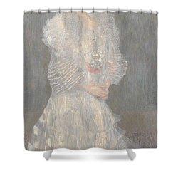 Portrait Of Hermine Gallia Shower Curtain