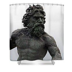 Poseidon Shower Curtain