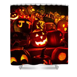 Pumpkinfest 2015 Shower Curtain